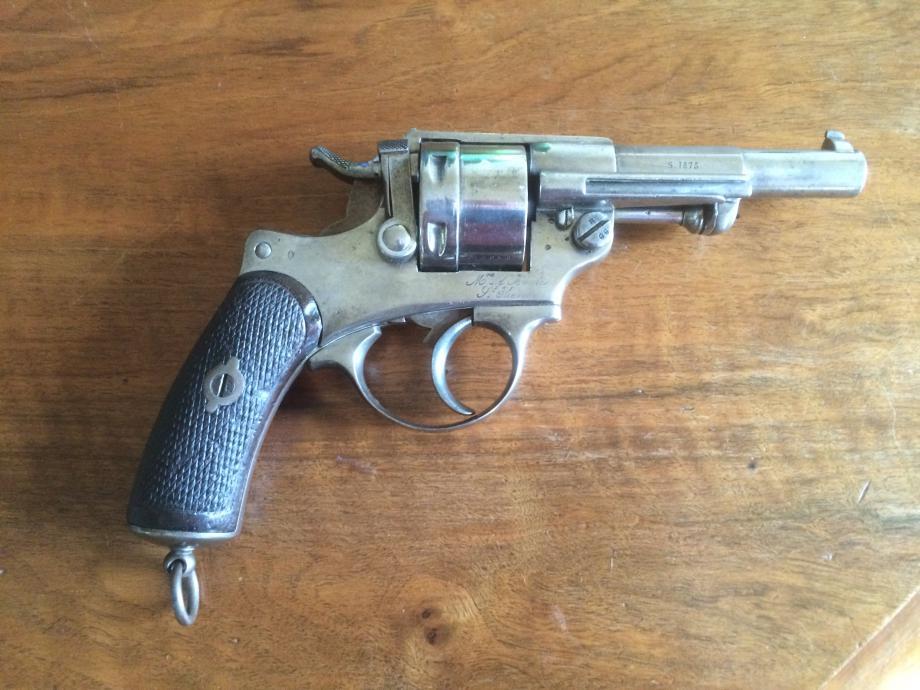 Revolver 1873 F 63717 avec X ajouté