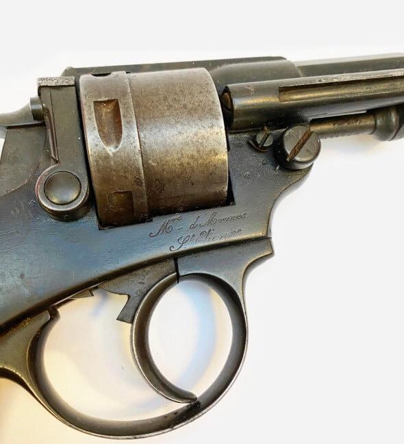 Revolver 1873 G 35111 avec X ajouté
