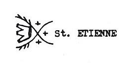 Poinçon de St Etienne d'Avril 1879 à Août 1885