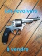 Revolvers mles 1873 et 1874 en vente
