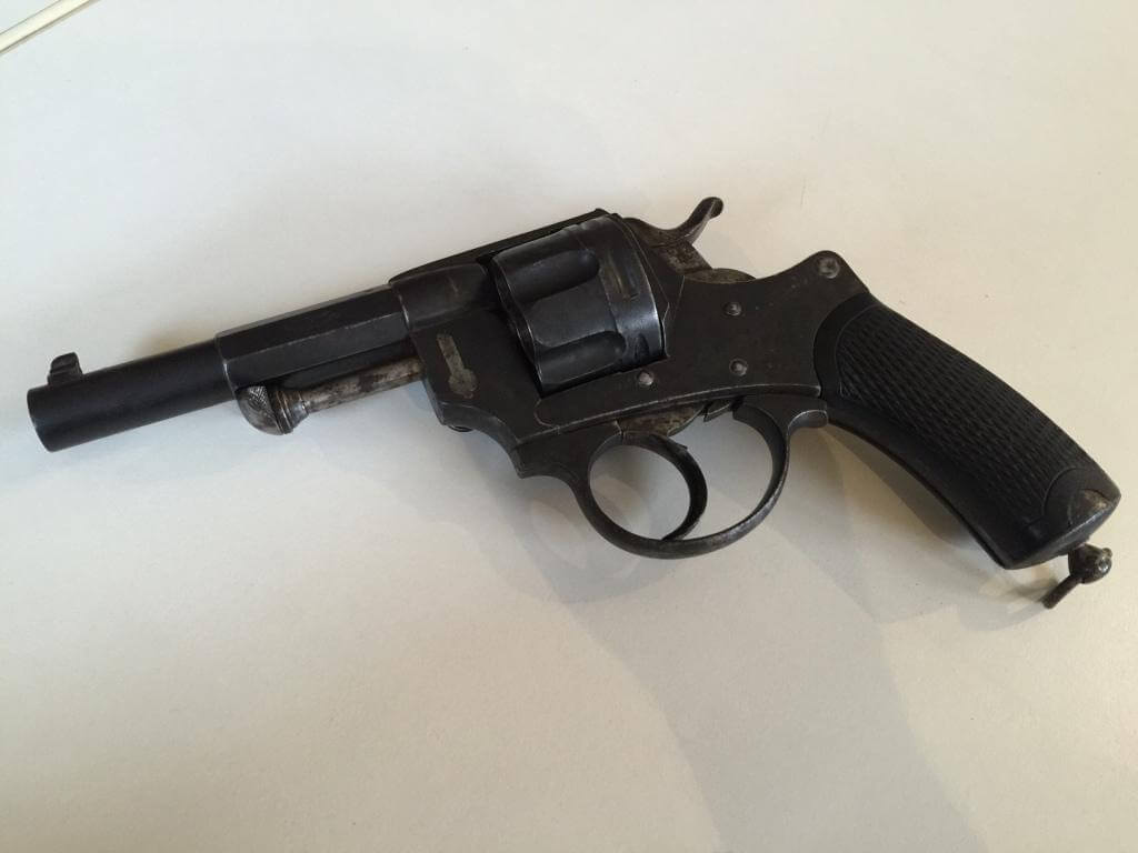 Revolver mle 1874 civil, fabrication belge