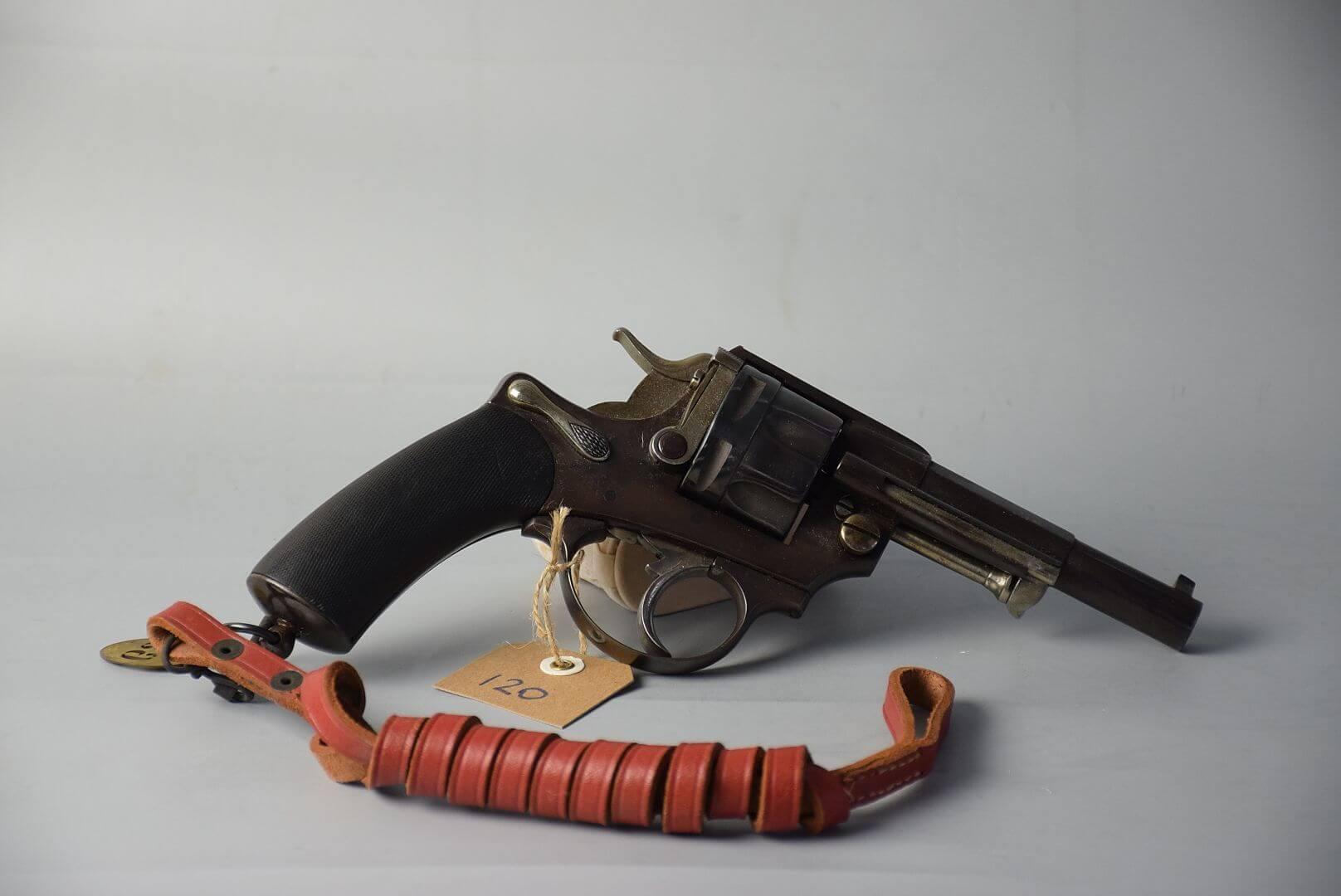 Revolver mle 1874 civil, fait par Galand
