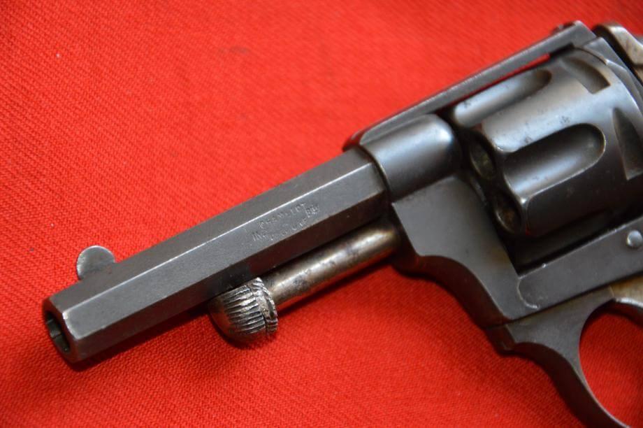 Revolver 1874 civil en calibre 320, fabrication Chamelot et Delvigne, Marquage INon Btée Chamelot & Delvigne sur le canon
