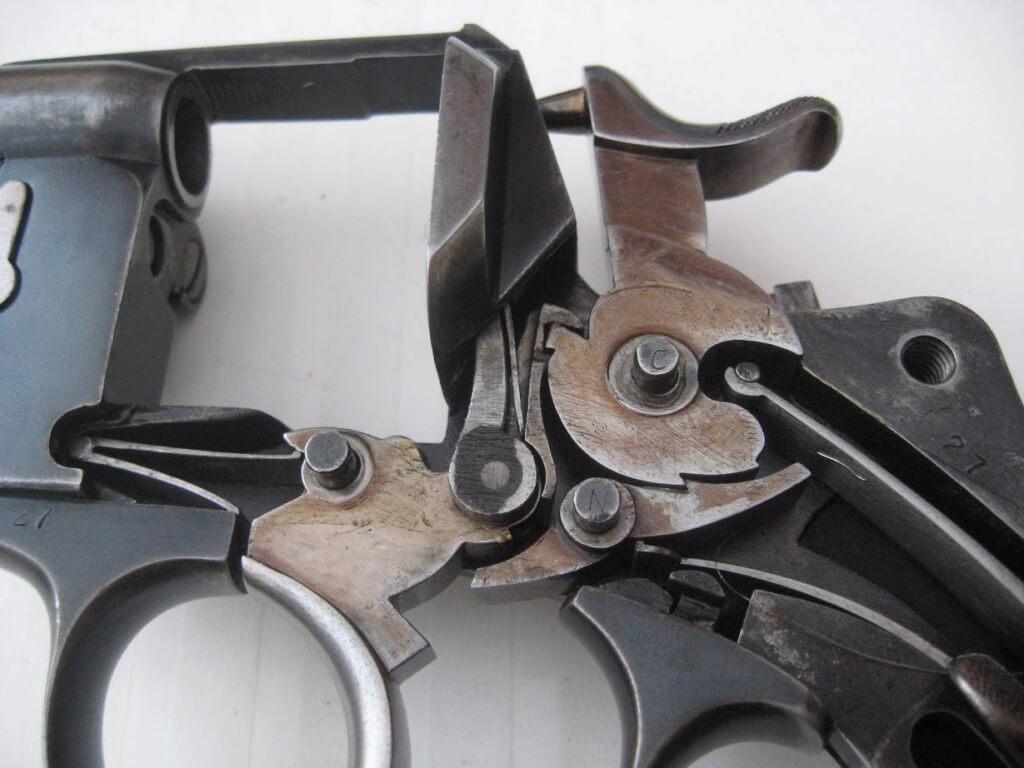 Revolver 1874 civil de la CNN: mécanisme