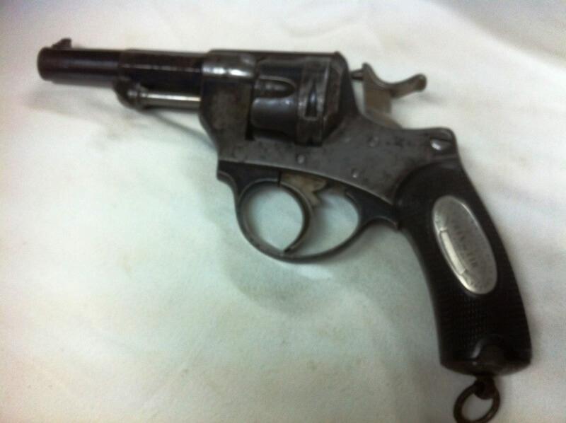 Revolver 1874 civil Saint Etienne, prix de tir