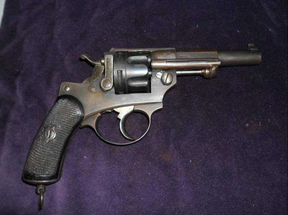 Les versions civiles des revolvers mod les 1873 et 1874 - La manufacture saint etienne ...