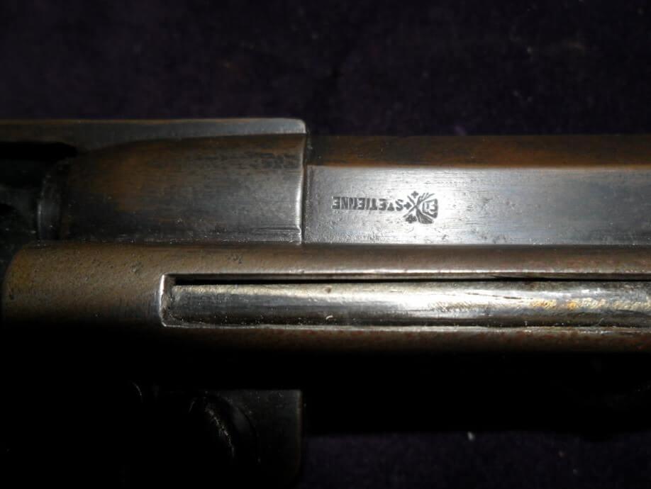 Revolver 1874 civil, marquage de la Manufacture d'Armes et Cycles de Saint Etienne