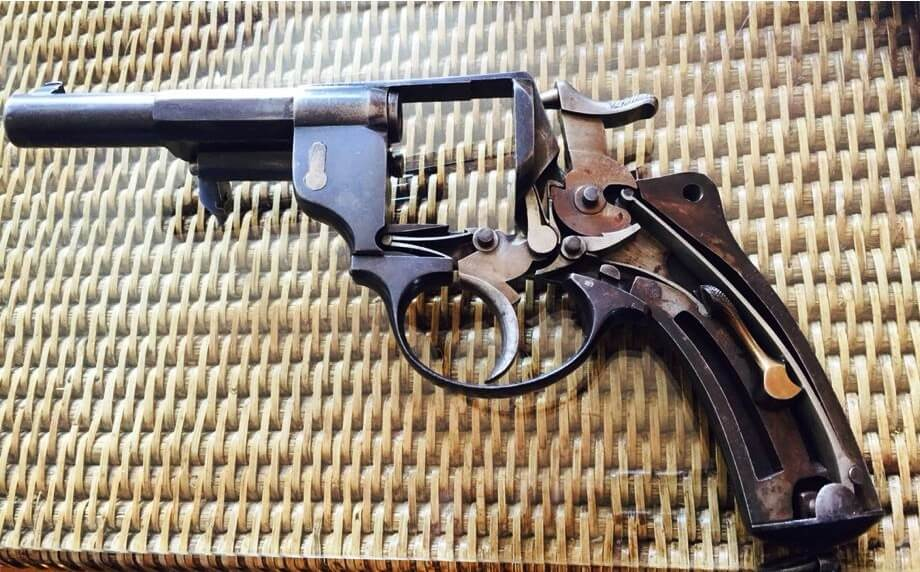 Revolver 1874 civil, mécanisme