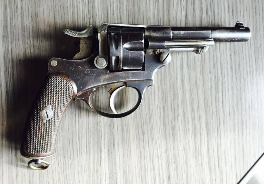 Revolver 1874 civil