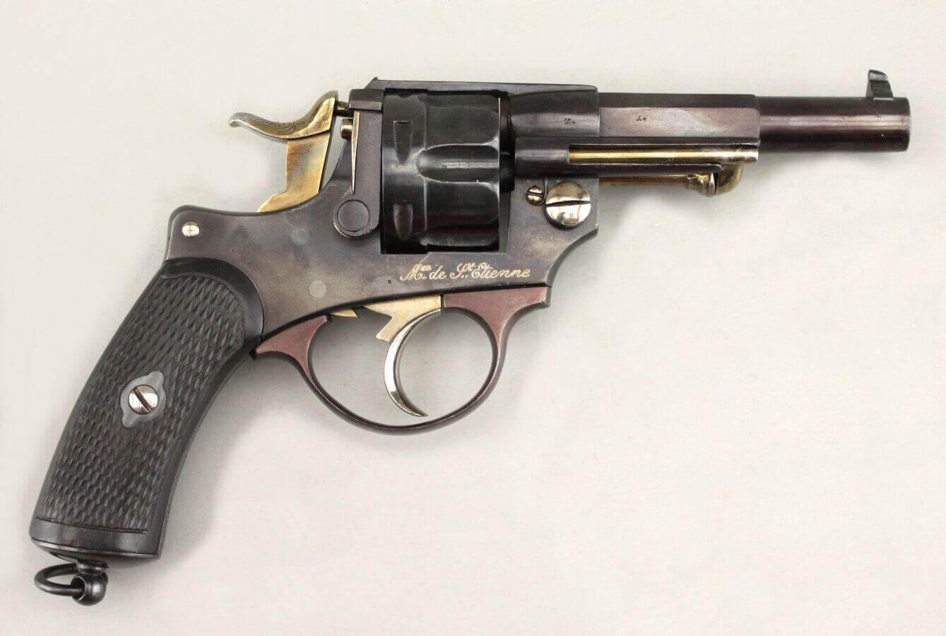 Revolver 1874 civil (St Etienne) marqué Protectorat du Tonkin