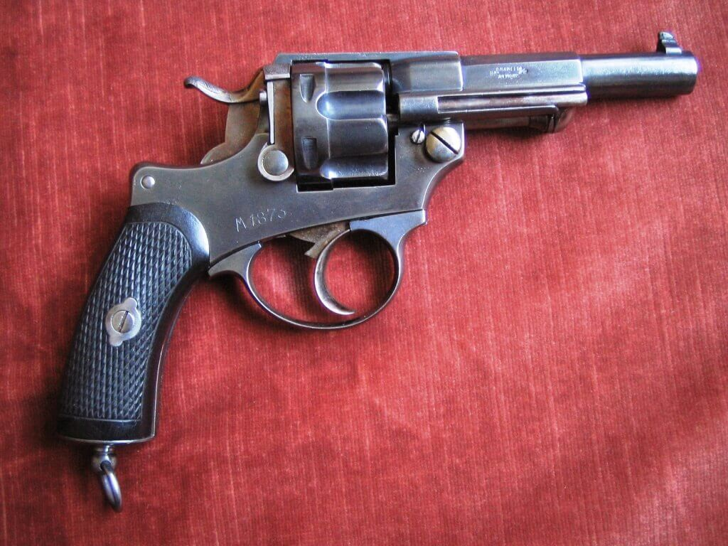 Revolver 1874 civil Belge