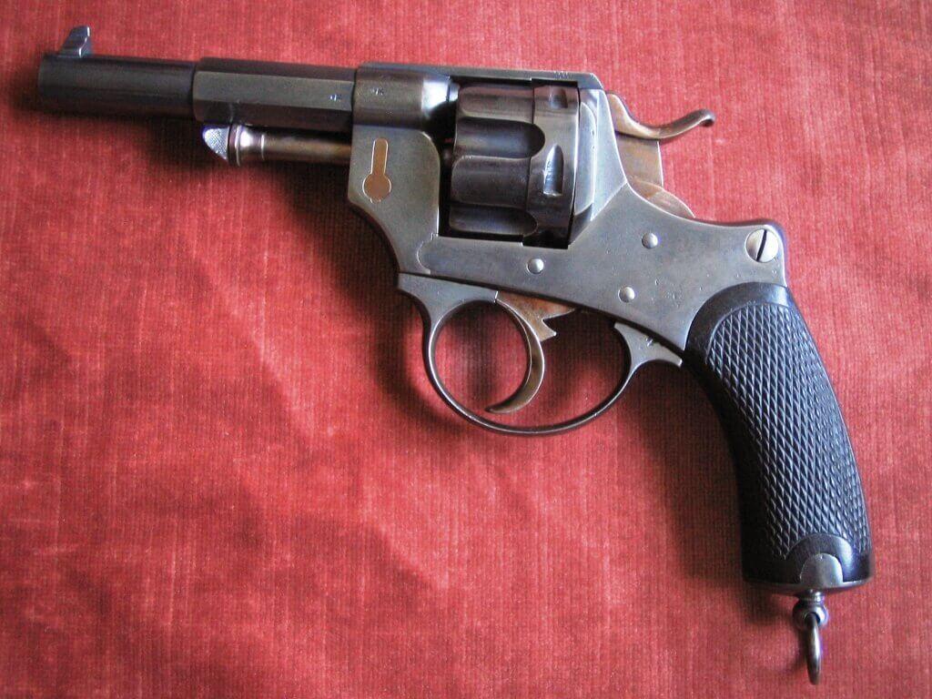 Revolver 1874 civil Belge