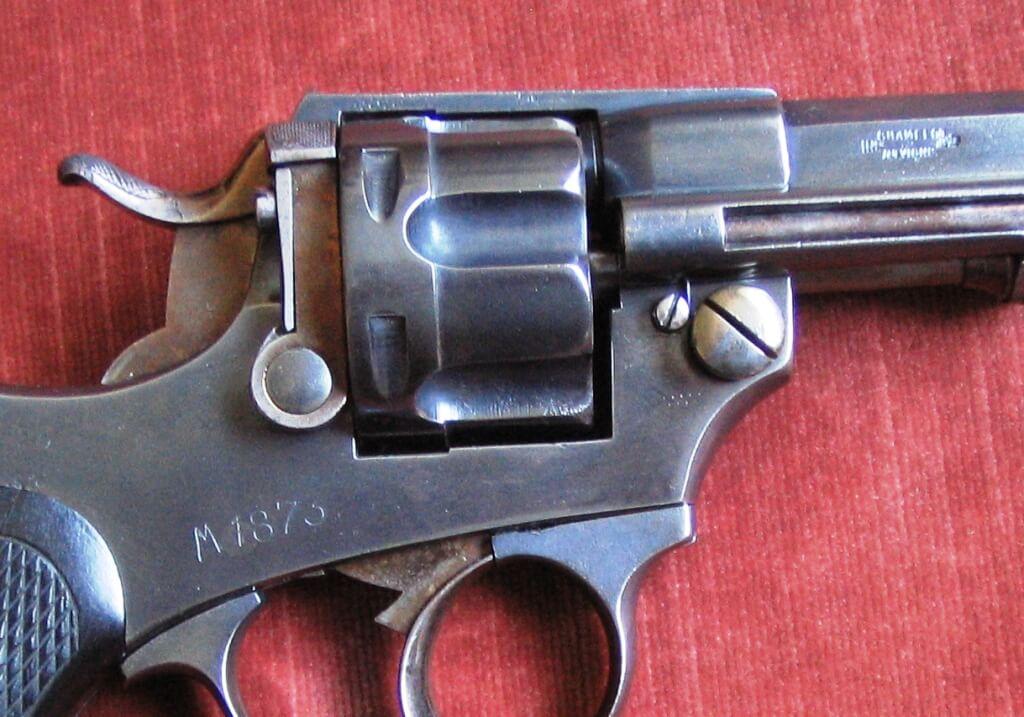 Marquage du revolver 1874 civil Belge: M1873 et brevet Chamelot Delvigne