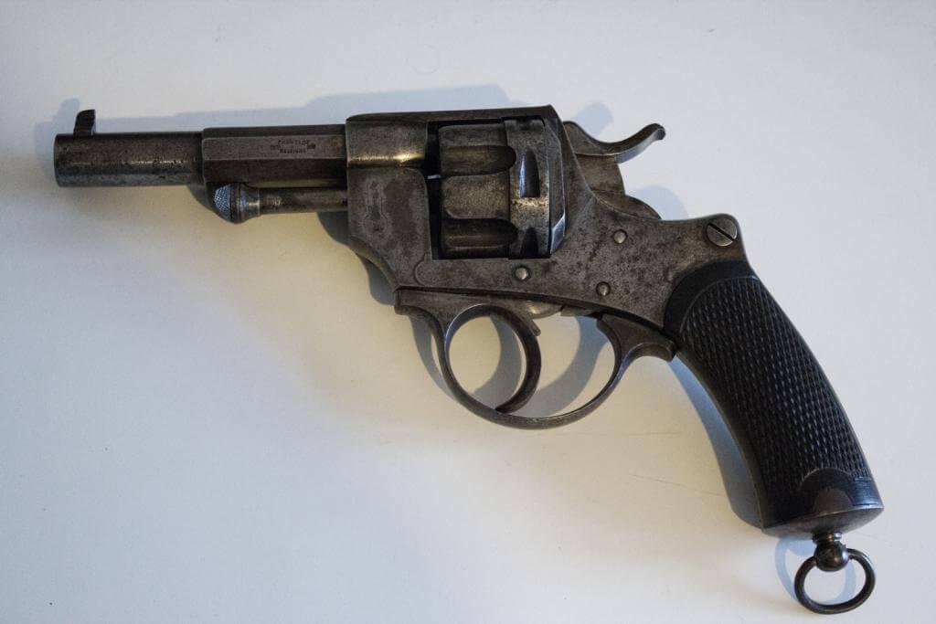 Revolver mle 1874 civil, fabrication belge Chamelot et Delvigne