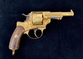 Revolvers 1873 gravés
