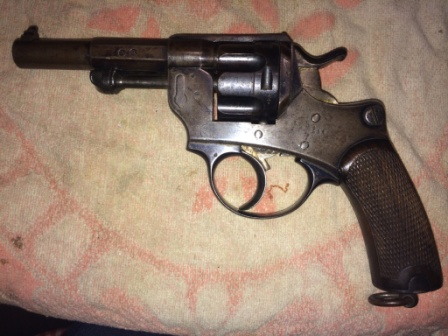 Revolver 1874 M