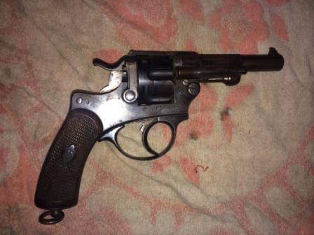 Revolver mle 1874 de marine