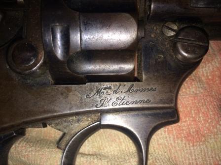 Marquage manufacture d'armes de Saint Etienne