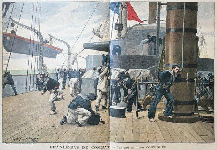 Léon Couturier Branle-bas de combat (1886)