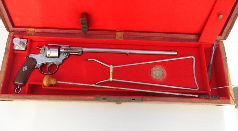 Revolver mle 1873 en 22 LR carabine
