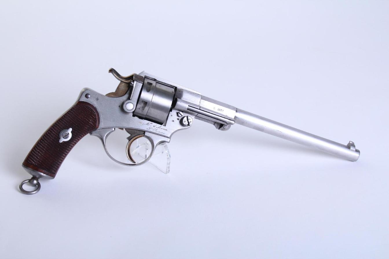 Revolver Mle 1873 avec canon long de 225mm