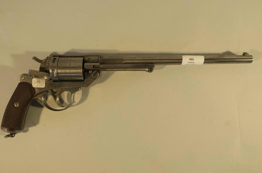 Ersatz de Revolver Mle 1873: canon long et barillet long