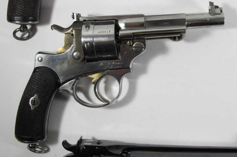 Revolver 1873, visée modifiée