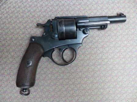 Revolver 1873 en 32 Smith et Wesson long