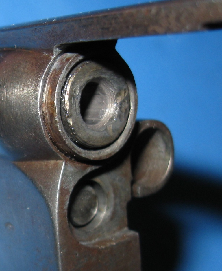 Recalibrage du canon en 22 LR sur un revolver 1873