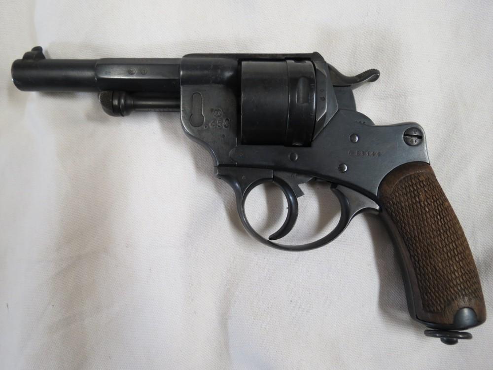 Revolver mle 1873 recalibré en 450 Bull Dog