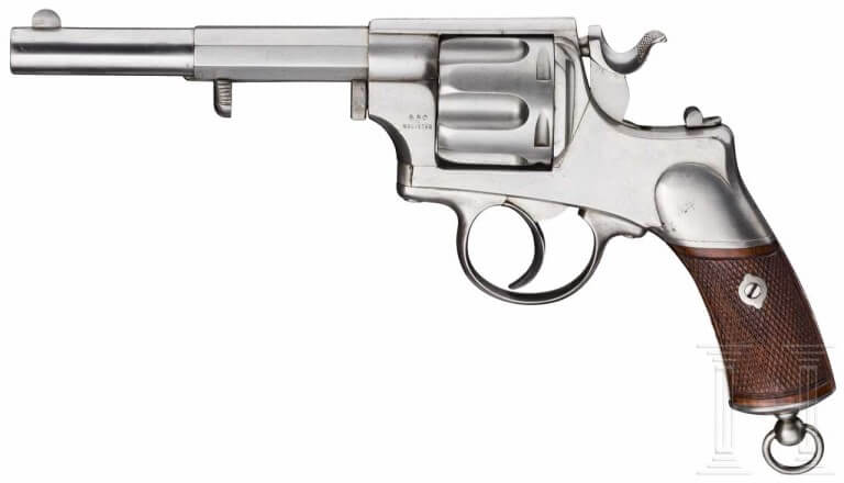 Revolver Warnant d'essai 1876