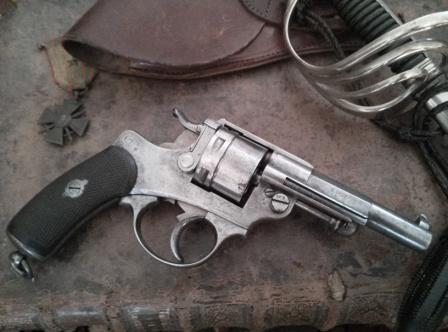 Le Revolver d'infanterie modèle 1873