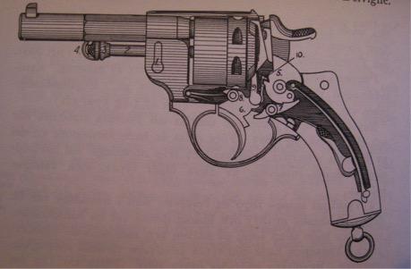 revolver M/1884 par Josef Alm