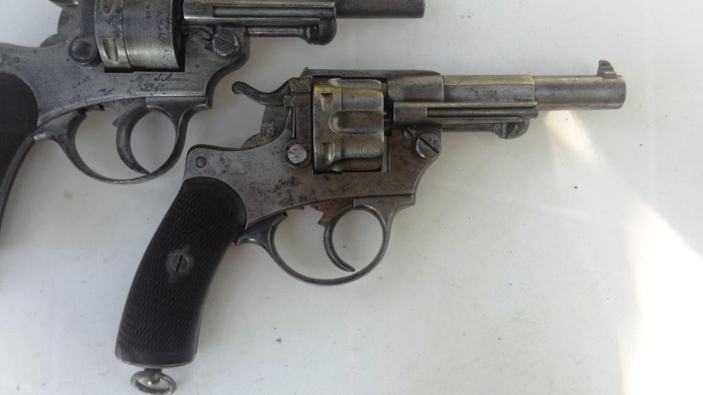 Revolver modèle 1874 vu de droite