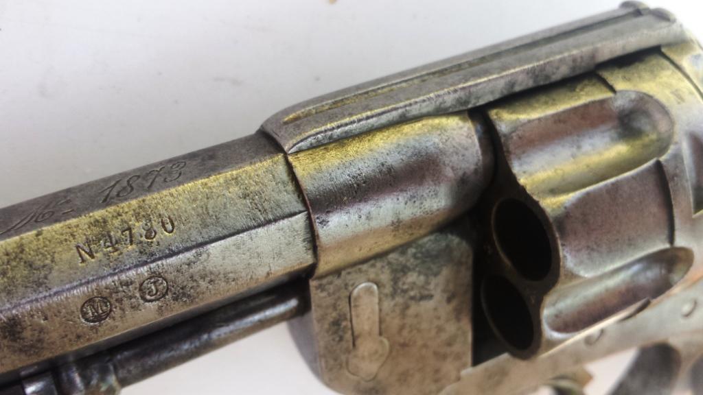 Numéro de série revolver mle 1874