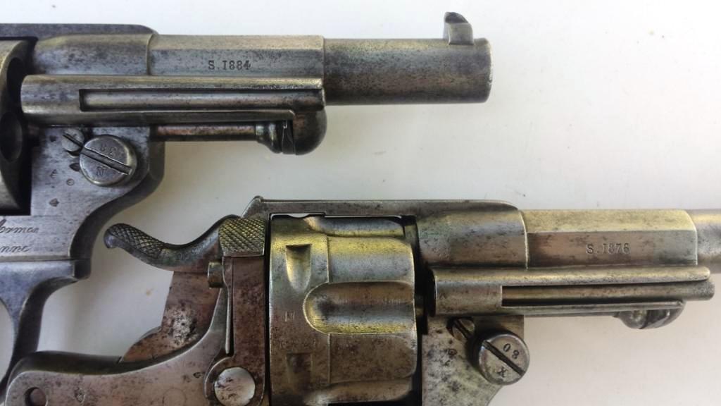 Marquage de l'année sur le canon: S. 1876