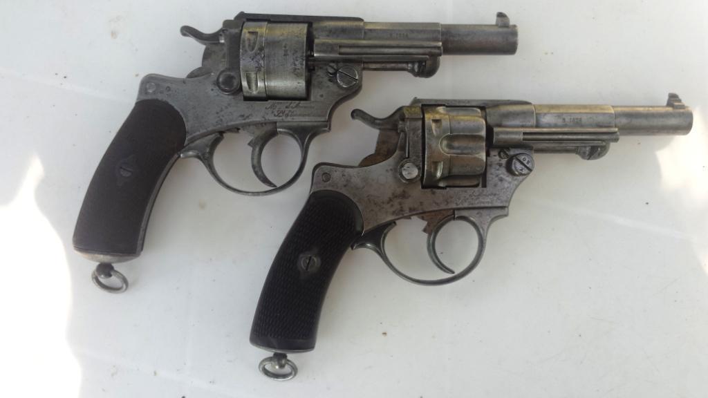 Comparaison modèle 1873 et 1874