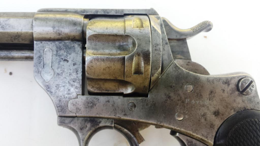 Cage du barillet et barillet cannelé du modèle 1874