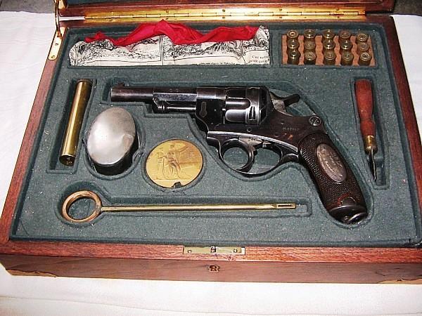 Revolver mle 1874 prix de tir en coffret