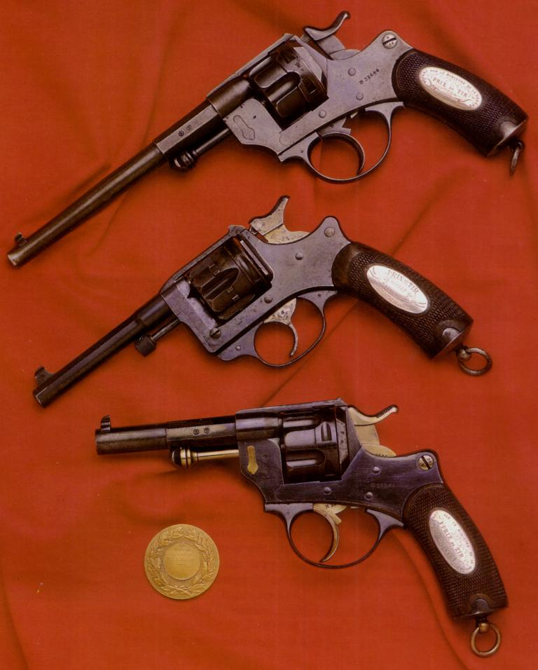 Revolver 1874 et 1892 prix de tir