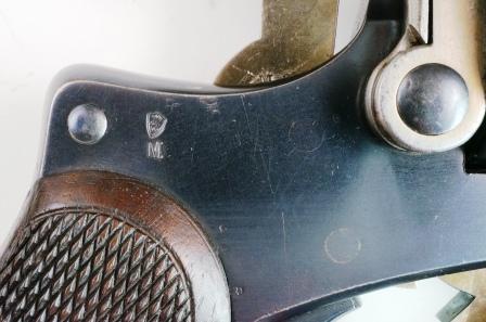 marquage M du revolver 1874