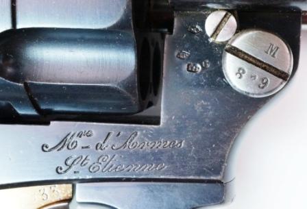 Le revolver d 39 ordonnance mod le 1874 - La manufacture saint etienne ...