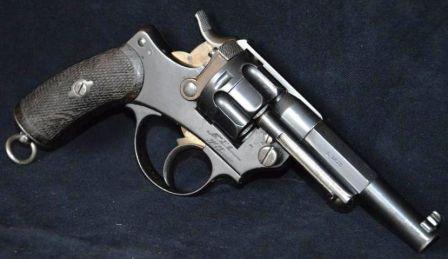 Revolver d'ordonnance mle 1874