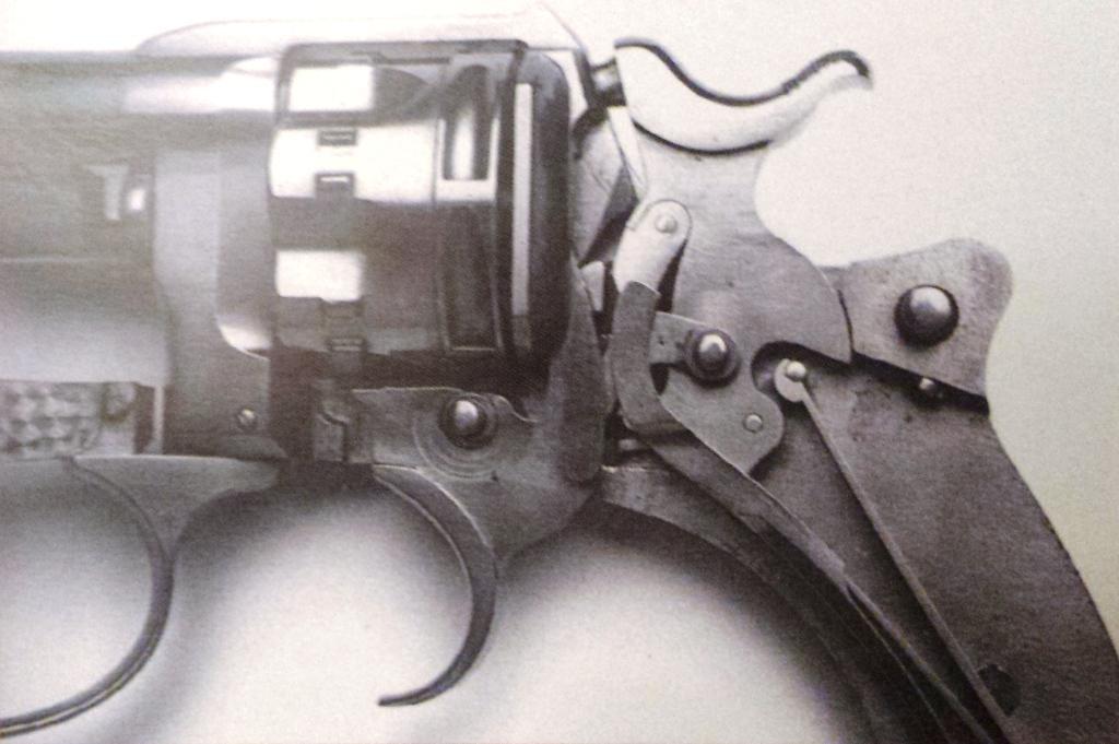 Revolver modèle 1885 numéro 4