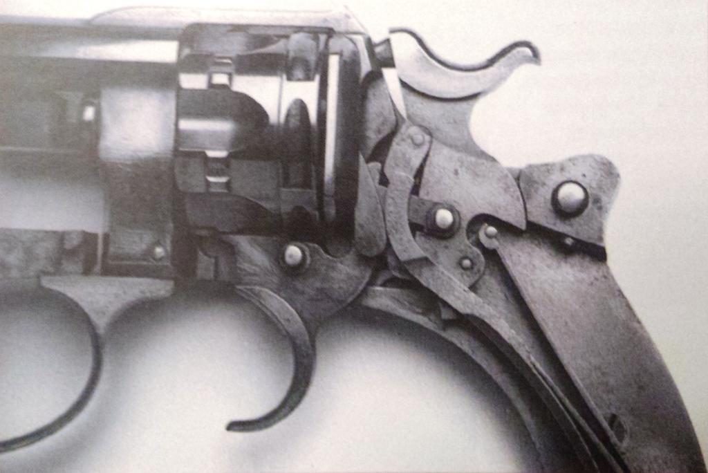 Revolver modèle 1885 numéro 8