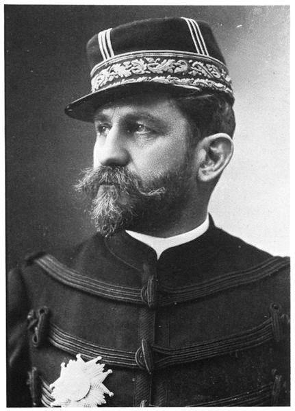 Portrait du général Boulanger