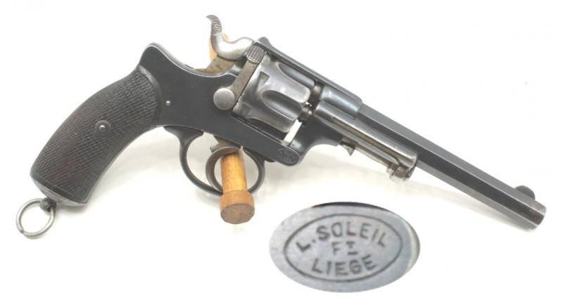 Revolver Abadie modèle 1885 Portugais, fabriqué en Belgique