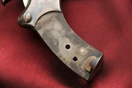 Revolver 1887 - 1889/90 Lamure et Gidrol, crosse