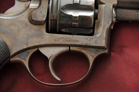 Revolver 1887 - 1889/90 Lamure et Gidrol, marquage Saint Etienne