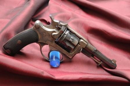 Revolver 1887 - 1889/90 Lamure et Gidrol